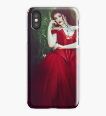 Crimson Queen III iPhone Case