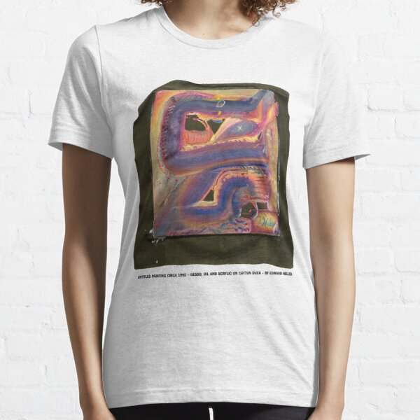 Untitled Painting Circa 1992 by Edward Heller Essential T-Shirt