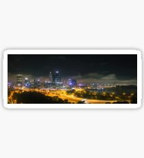 Perth City from Kings Park Sticker