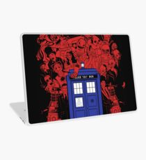 They Have The Phone Box... Laptop Skin