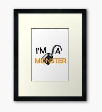 """Arrested Development """"I'm A Monster"""" Framed Print"""