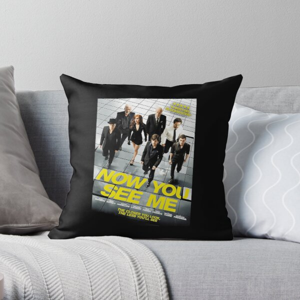 Now You See Me 2 Throw Pillow