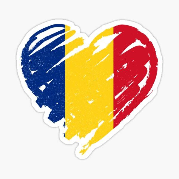 I Love Romania - Iubesc România Sticker