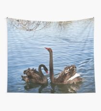 Black Swans Wall Tapestry