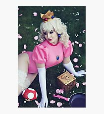 Princess Peach Photographic Print