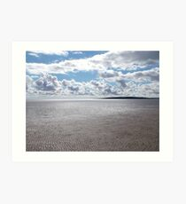 Morecambe Bay From A Cross Bay Walk Art Print