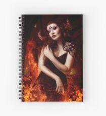Demon Girl Spiral Notebook