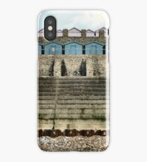 Charmouth Huts iPhone Case/Skin