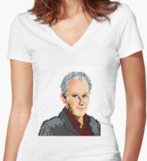 Peter Davison Women's Fitted V-Neck T-Shirt