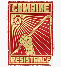 Combine Resistance Poster