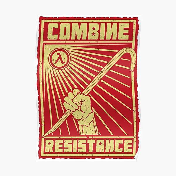Combine Resistance Poster
