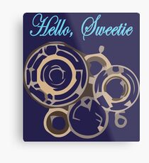 Hello, Sweetie Metal Print