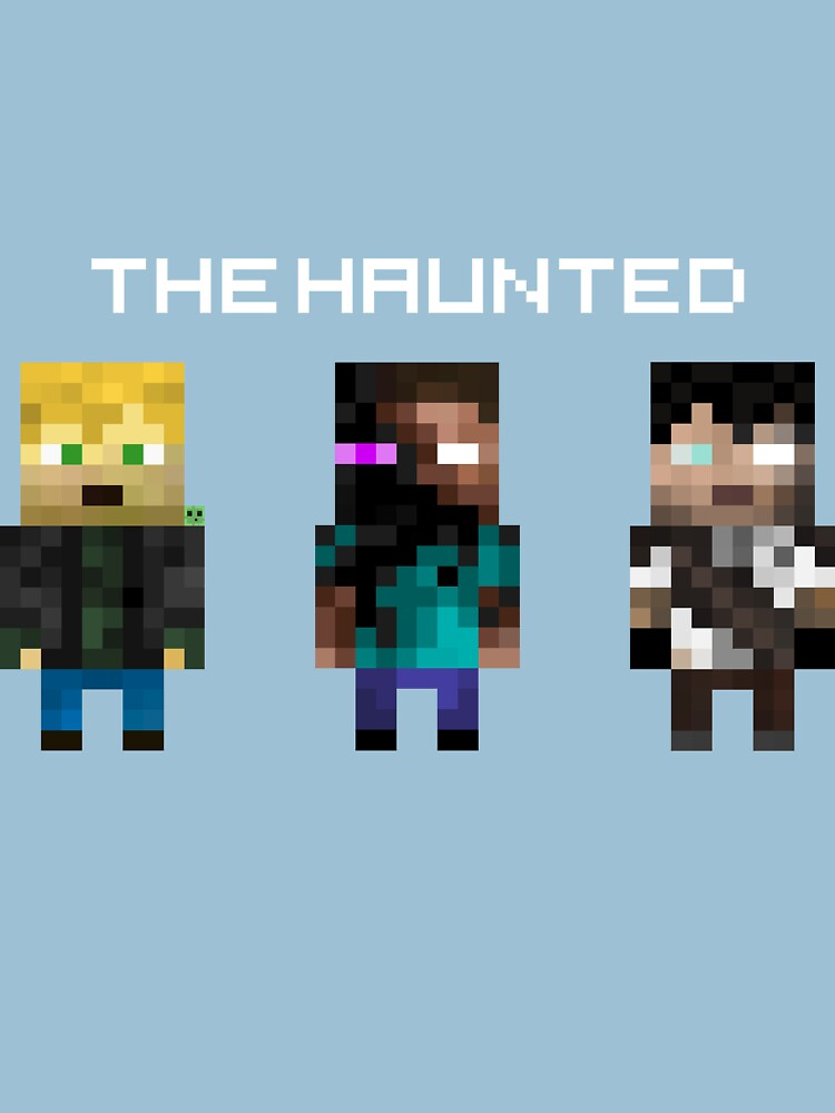 TShirtGifter presents: The Haunted - Pixelated | Unisex T-Shirt