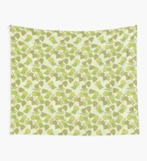 Birch leaves Wall Tapestry