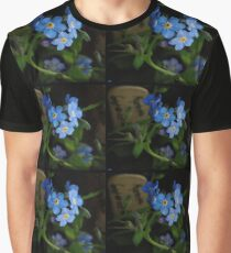 Blue Morning Graphic T-Shirt