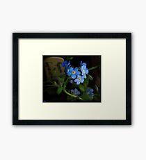 Blue Morning Framed Print