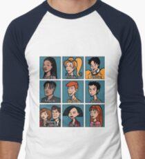 Daria Characters Men's Baseball ¾ T-Shirt