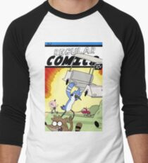 Regular Comics no.1! Men's Baseball ¾ T-Shirt