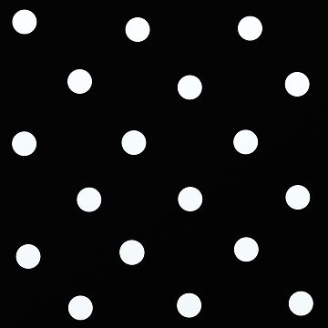 Dots Black and white by paintingsofi