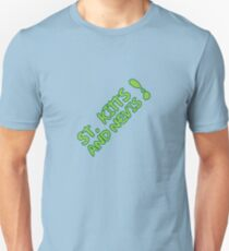 St Kitts & Nevis Exclamation Tee Unisex T-Shirt