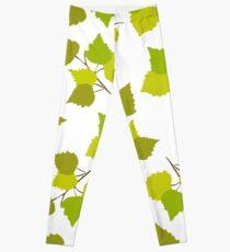 Birch leaves Leggings