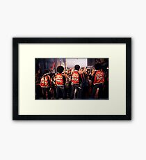 The Get Down Brothers Framed Print