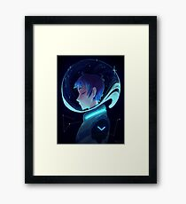 The Blue Paladin Framed Print
