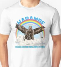 Harambe - Gorilla Angel T-Shirt