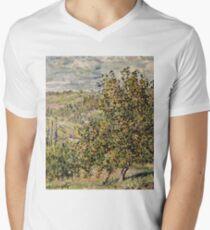 Claude Monet - Apple Blossom  Mens V-Neck T-Shirt