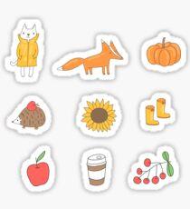 Autumn Sticker