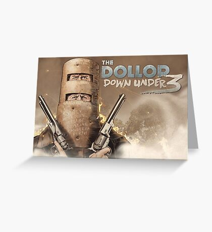 The Dollop Down Under 3 Landscape Greeting Card