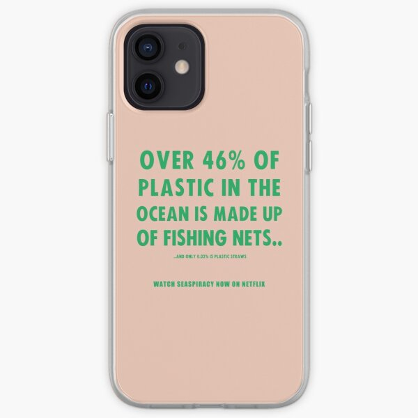 Watch Seaspiracy - Vegan Facts: 46% Of Plastic In The Ocean Is Made Up Of Fishing Nets iPhone Soft Case