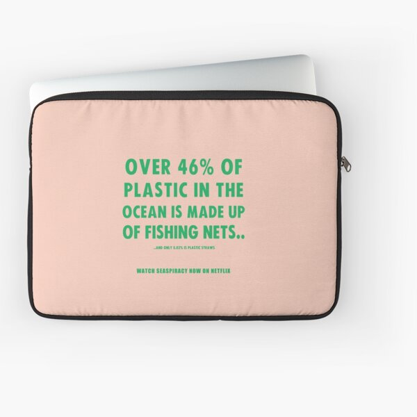 Watch Seaspiracy - Vegan Facts: 46% Of Plastic In The Ocean Is Made Up Of Fishing Nets Laptop Sleeve