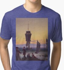 Caspar David Friedrich - The Stages Of Life  Tri-blend T-Shirt