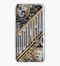 Performing Arts Posters Whiteleys Original Hidden Hand Co the comedy event 0986 iPhone Case/Skin
