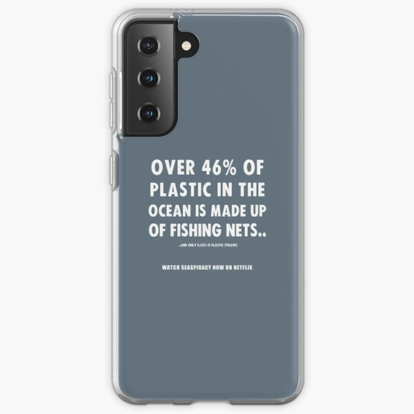 Watch Seaspiracy - Vegan Facts: 46% Of Plastic In The Ocean Is Made Up Of Fishing Nets Samsung Galaxy Soft Case