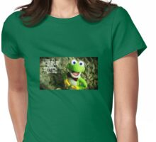 Little Jake Frog Womens Fitted T-Shirt