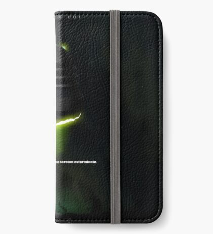 ALIEN iPhone Wallet