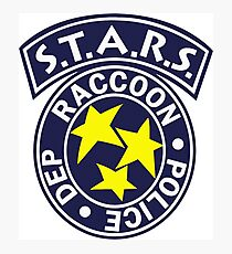 S.T.A.R.S. - RACCOON POLICE DEPT. - RESIDENT EVIL Photographic Print