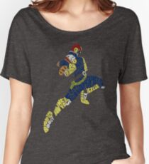 Captain Falcon Typography - Justice is Served! Women's Relaxed Fit T-Shirt