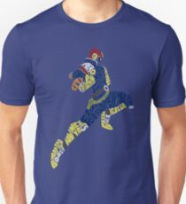 Captain Falcon Typography - Justice is Served! Unisex T-Shirt