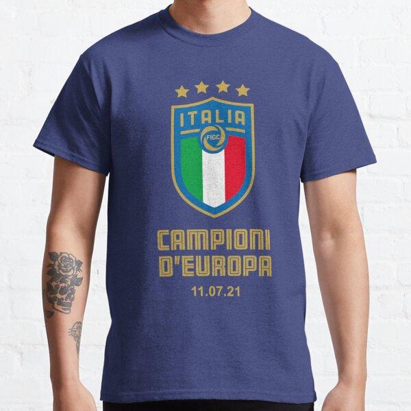 Italy European Football Champion 2021 Campioni D'Europa Classic T-Shirt
