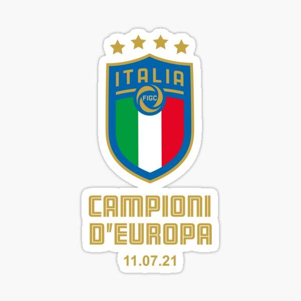 Italy European Football Champion 2021 Campioni D'Europa Sticker