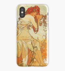Alphonse Mucha - Summer 1896 iPhone Case/Skin