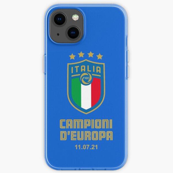 Italia Campioni d'Europa di Calcio 2021 Wembley iPhone Soft Case