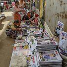 Yangon Newsagency by Werner Padarin