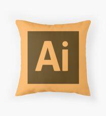 Illustrator (Adobe CS) Throw Pillow Throw Pillow