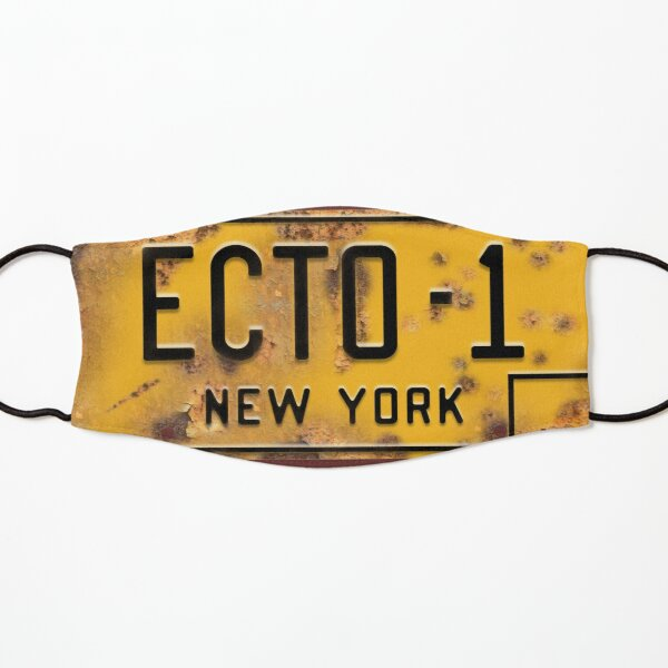 Ecto-1 Licence Plate (Ghostbusters) Kids Mask