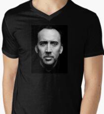 Uncaged Mens V-Neck T-Shirt