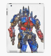 Transformers Optimus Prime Or Orion Pax Colored Pencil iPad Case/Skin